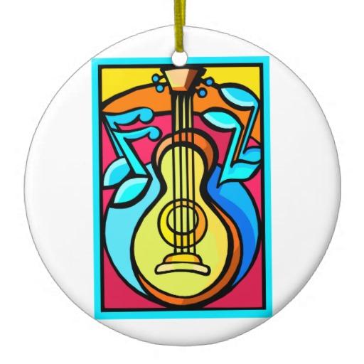 Christmas Tree ... Free Guitar Clipart