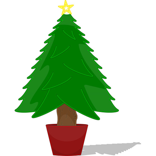 Decorated Christmas Tree Clipart | Clipart Panda - Free Clipart Images