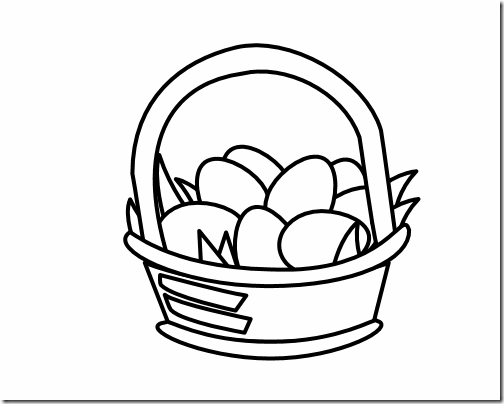 easter egg clipart black and white clipart panda free
