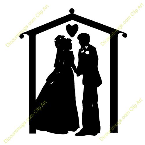 free christian wedding clipart - photo #37