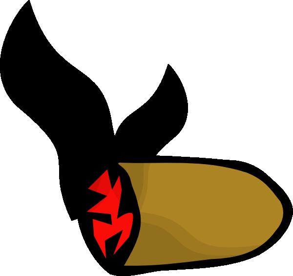 cigar 20clipart Lit Blunt Clip Art