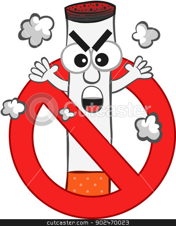 Electronic Cigarette No Smoking Clip Art – Clipart Download