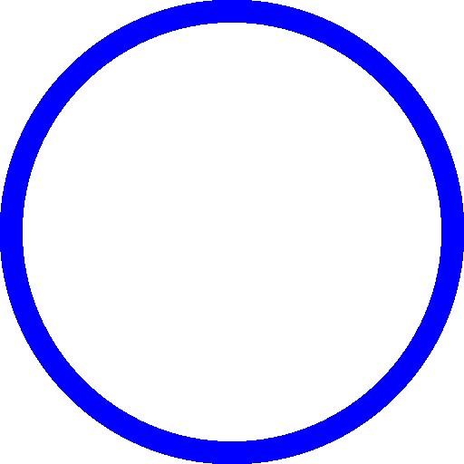 blue circle clip art - photo #14