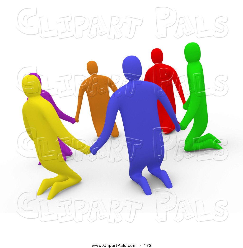 Circle Of Friends Cartoon Clipart (#5400735) - PinClipart