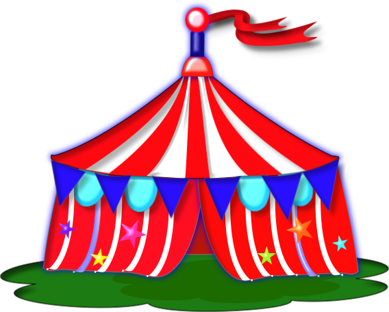 Circus Clip Art Packages | Clipart - 166.6KB
