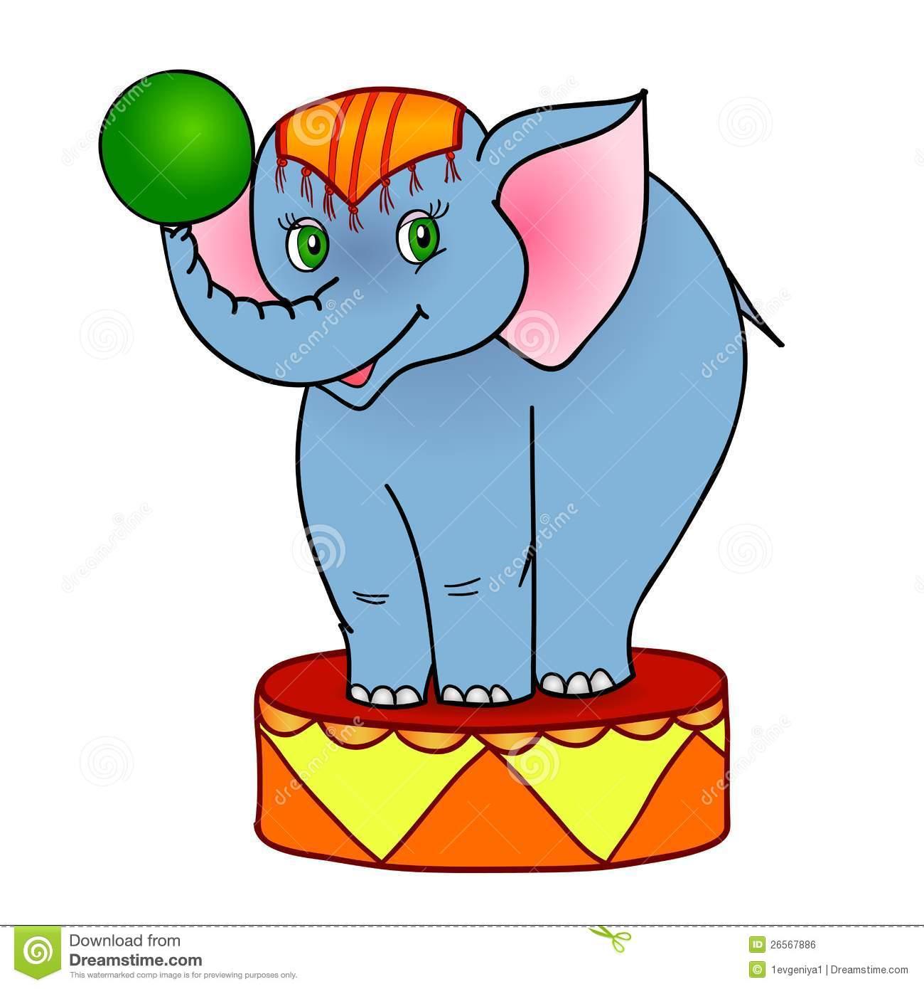 Clipart Circus Elephant