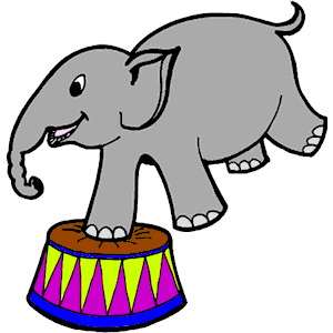 circus elephant clipart clipart panda free clipart images circus elephant clip art with cocktail circus elephants clipart