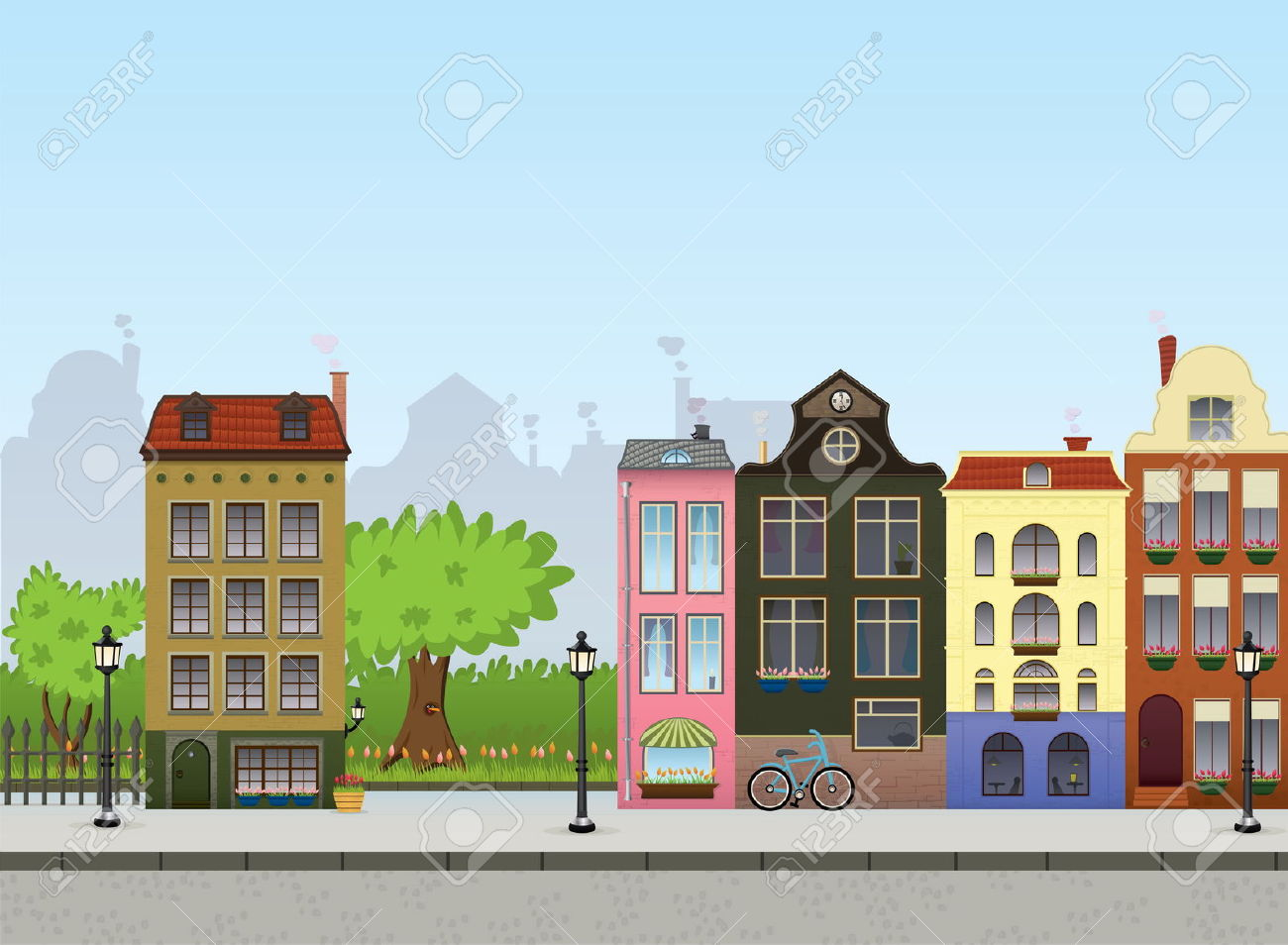 city centre clipart - photo #16
