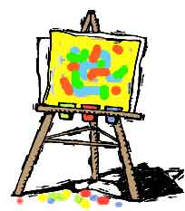 art easel clipart clipart panda free clipart images rh clipartpanda com art easel clipart black and white easel clipart