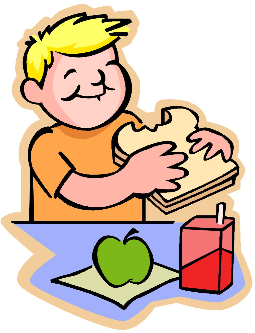Kids Eating At Table Clipart | Clipart Panda - Free ...