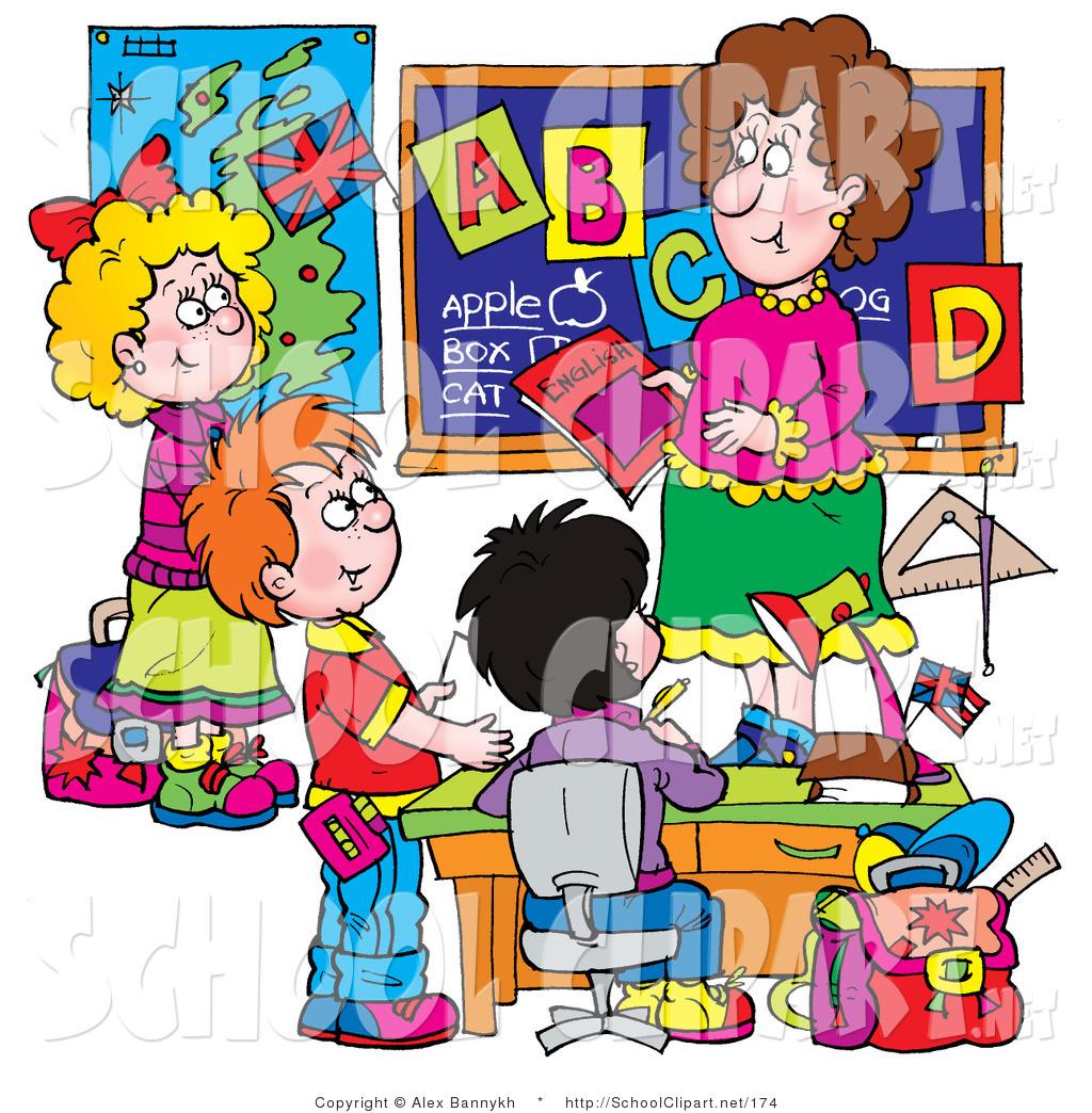 Kindergarten Clip Art: Classroom Clipart Helpers For Preschool