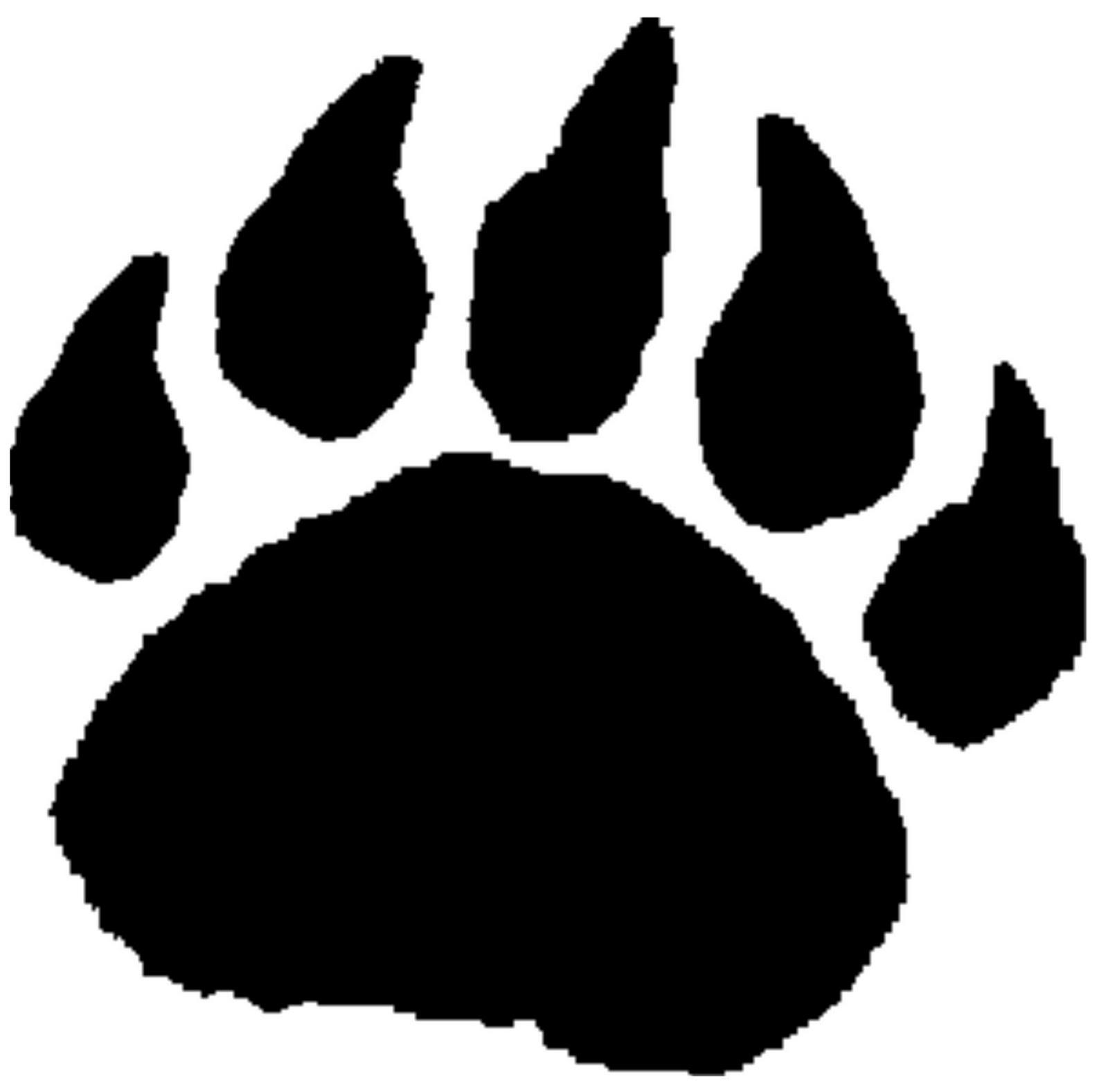 pin bear paw clip art on clipart panda free clipart images rh clipartpanda com polar bear paw clip art bear paw border clip art
