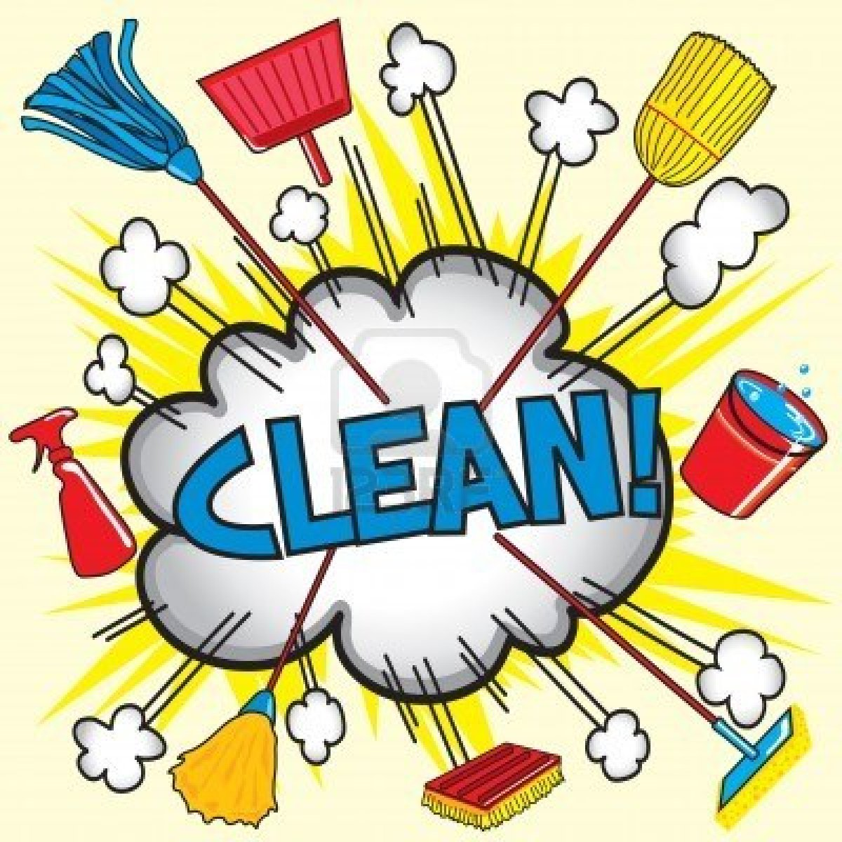 Keep your surrounding neat and clean