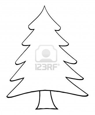 clip art christmas tree outline clipart panda free clipart images rh clipartpanda com Artistic Christmas Tree Clip Art Christmas Tree Silhouette Clip Art