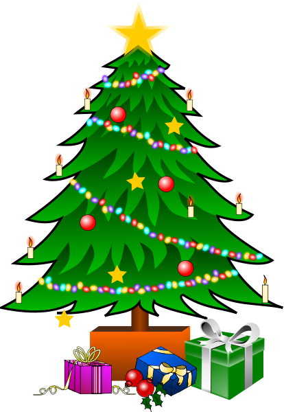 christmas tree with gifts clipart panda free clipart presents clip art borders presents clip art images