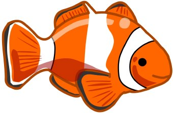 clown fish clip art clipart panda free clipart images rh clipartpanda com clownfish clipart free clownfish clipart black and white