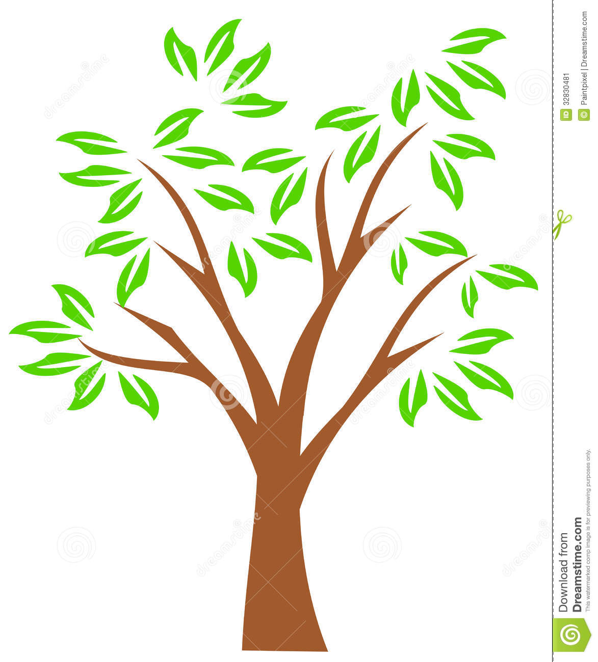 Clip Art Family Tree Outline on Whimsical Tree Clip Art Free