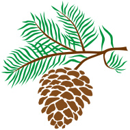 Pine Cone Clip Art Related Keywords & Suggestions - Pine Cone Clip Art ...