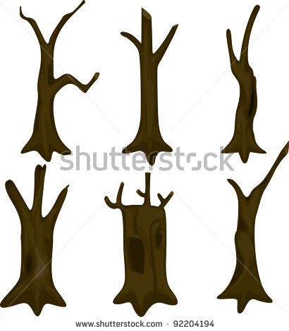 trunk_... trunk-stock-vector-illustration-tree-trunk