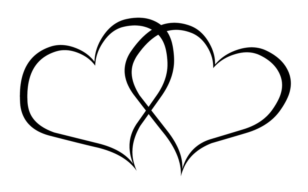 Wedding Hearts Clipart Clip Art Two Hearts | ...