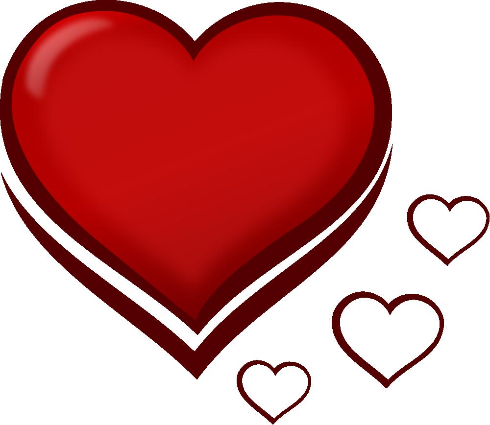 clip art double hearts free - photo #23