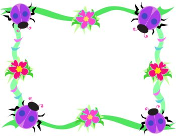 Spring Flowers Border Clipart | Clipart Panda - Free Clipart Images