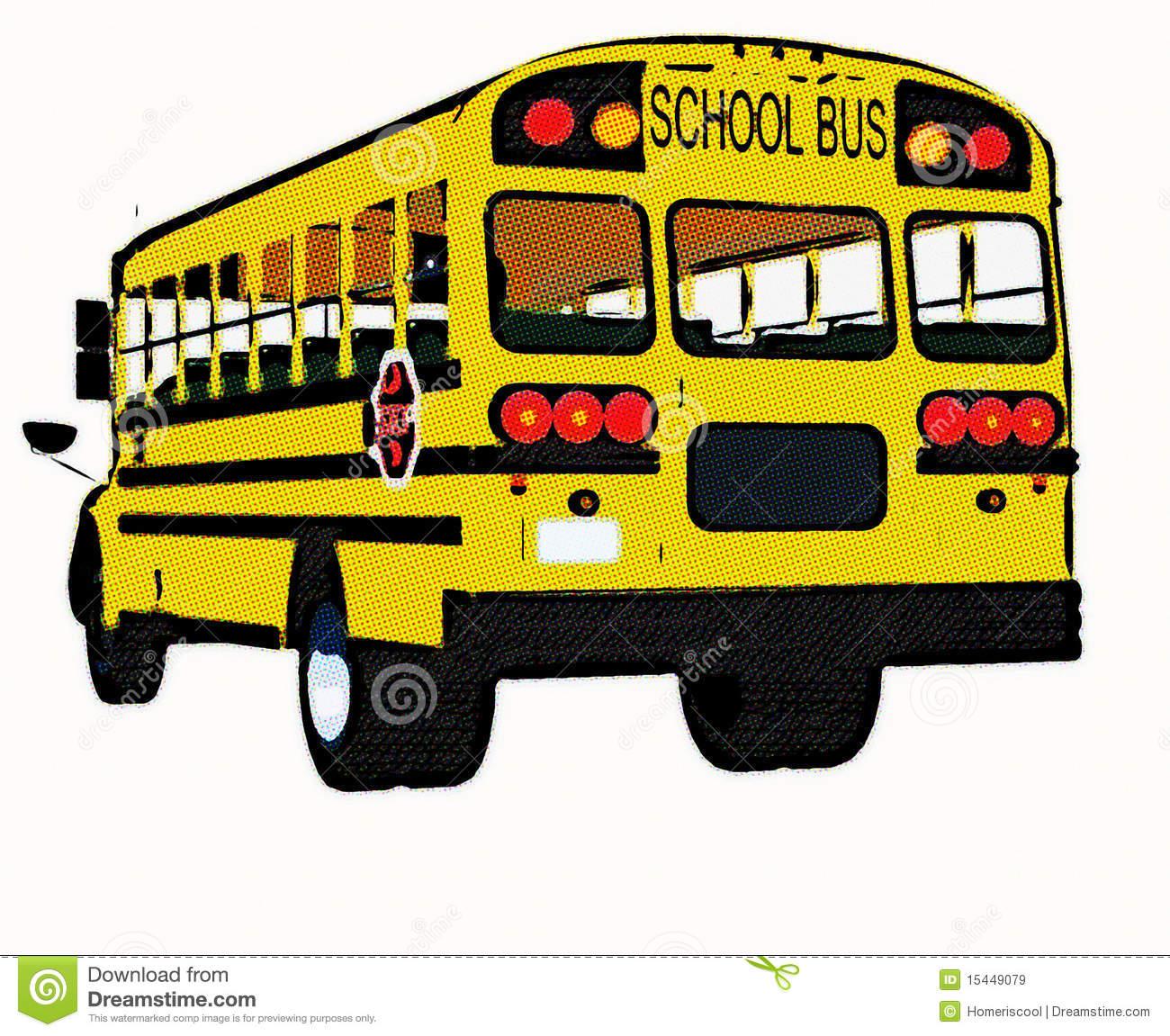 yellow bus clipart - photo #33