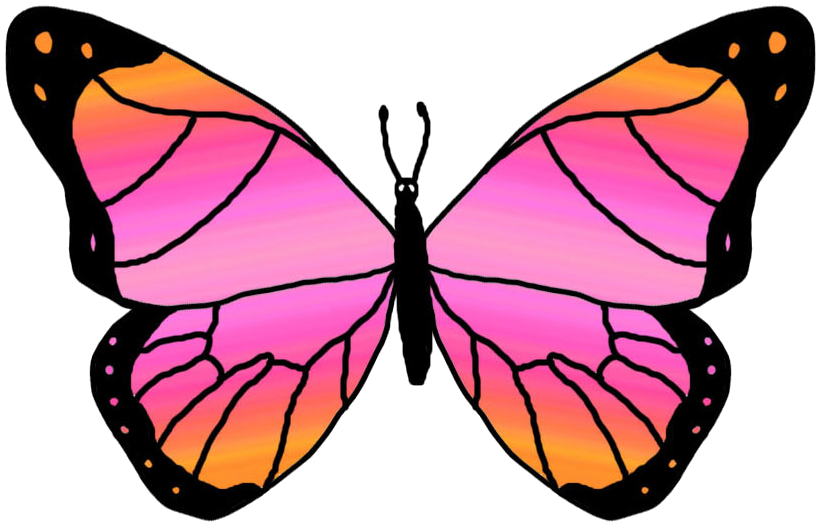 butterfly clip art clipart panda free clipart images rh clipartpanda com  free black and white butterfly clipart images