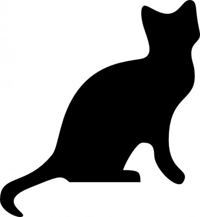 Clip Art Cat Silhouette Clip Art dog and cat silhouette clip art free clipart panda cat