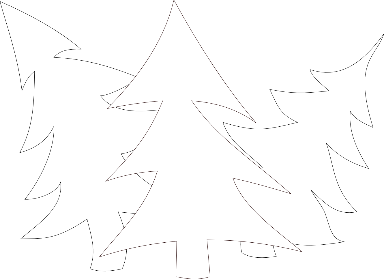 clipart%20christmas%20tree%20black%20white