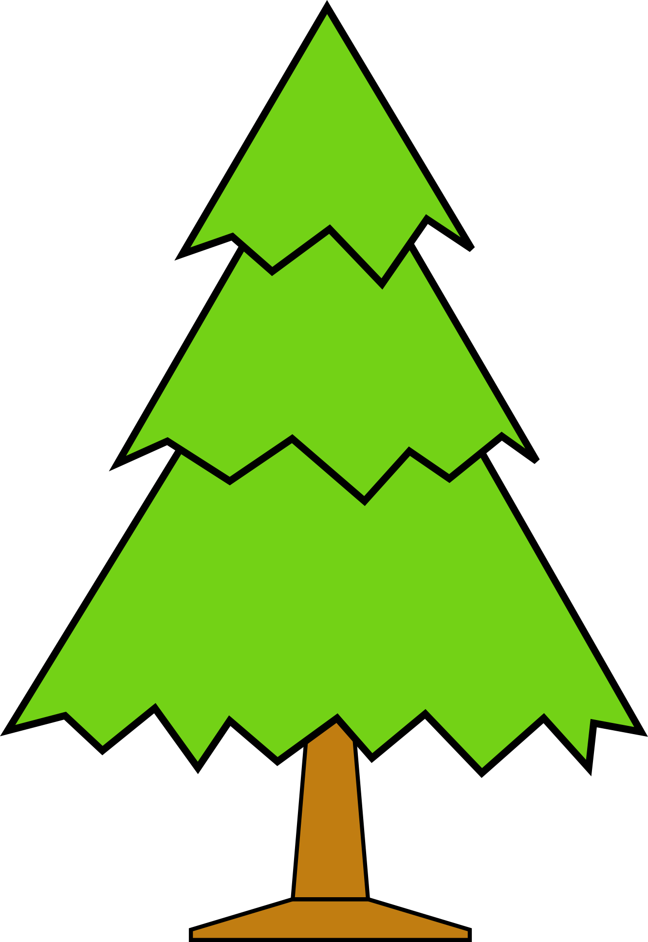 clip art christmas tree outline clipart panda free clipart images rh clipartpanda com  christmas tree clipart black and white outline