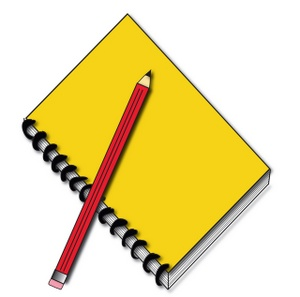 Pencil And Notebook Clipart Clipart Panda Free Clipart Images
