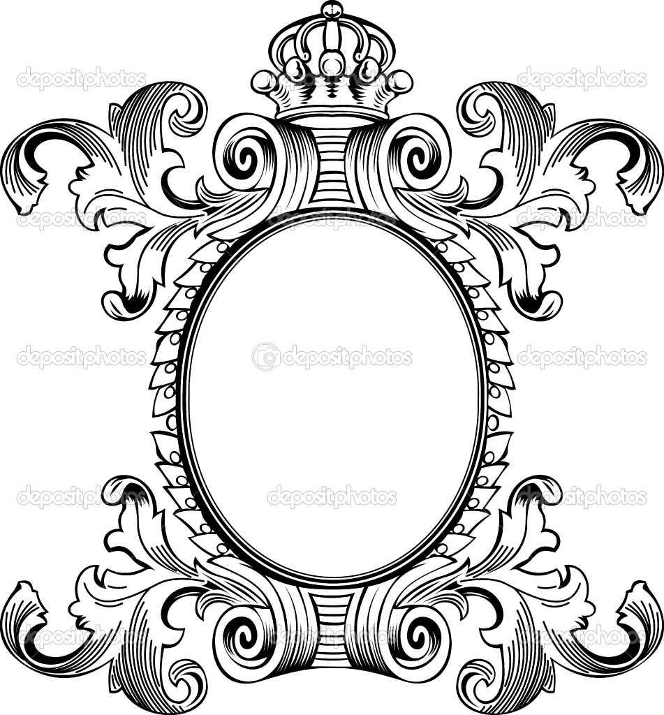 Use these free images for your websites  art projects  reports  and    Antique Picture Frames Vector