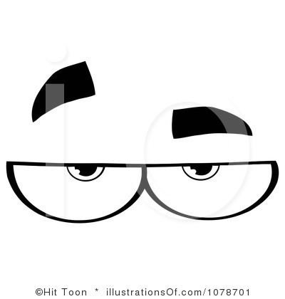 Clip Art Eyes Looking Up | Clipart Panda - Free Clipart Images
