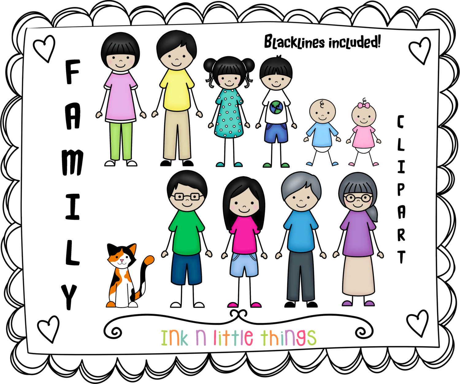Clipart Family Members | Clipart Panda - Free Clipart Images