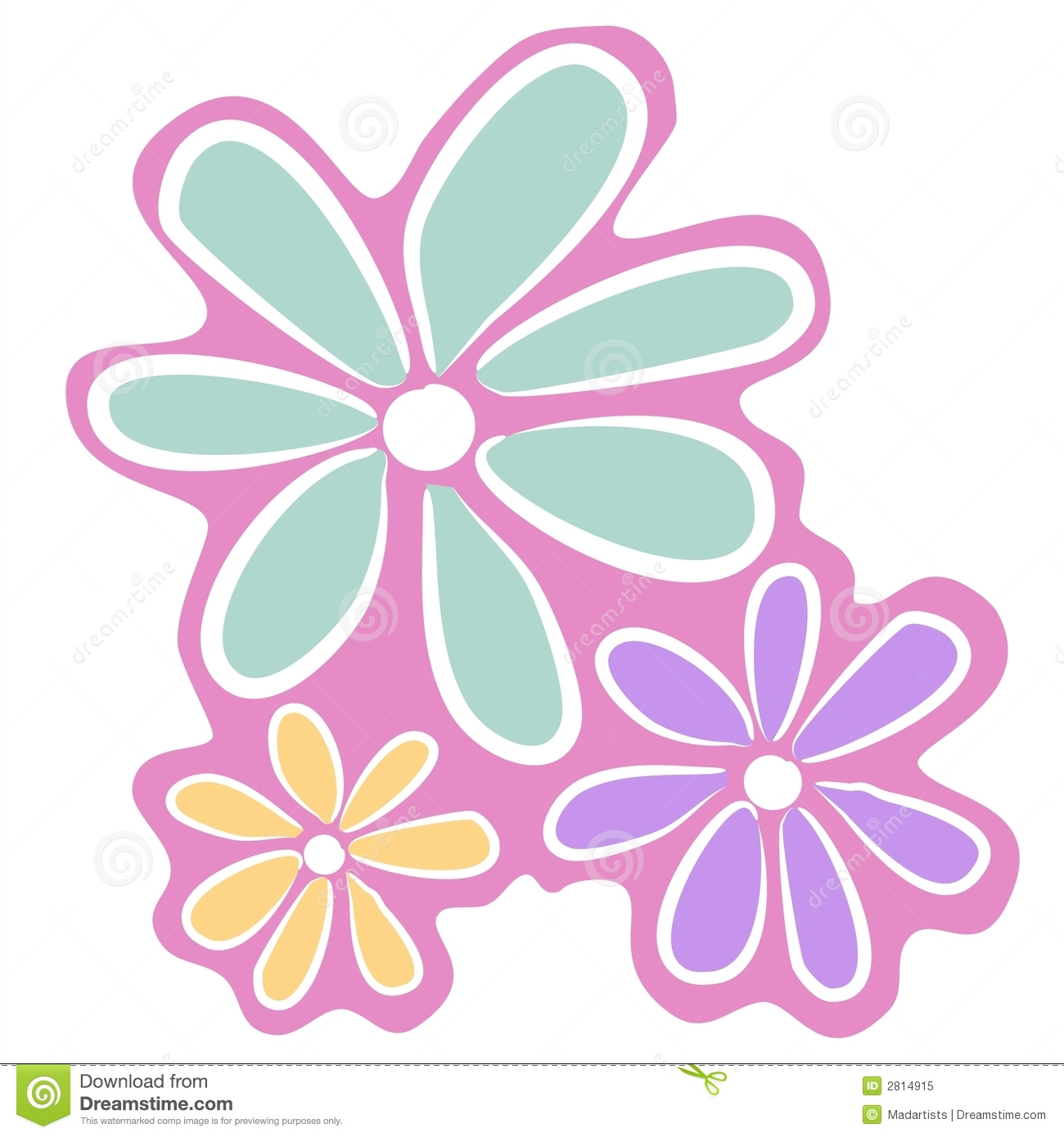 Light Pink Flower Clipart Clipart Panda Free Clipart Images
