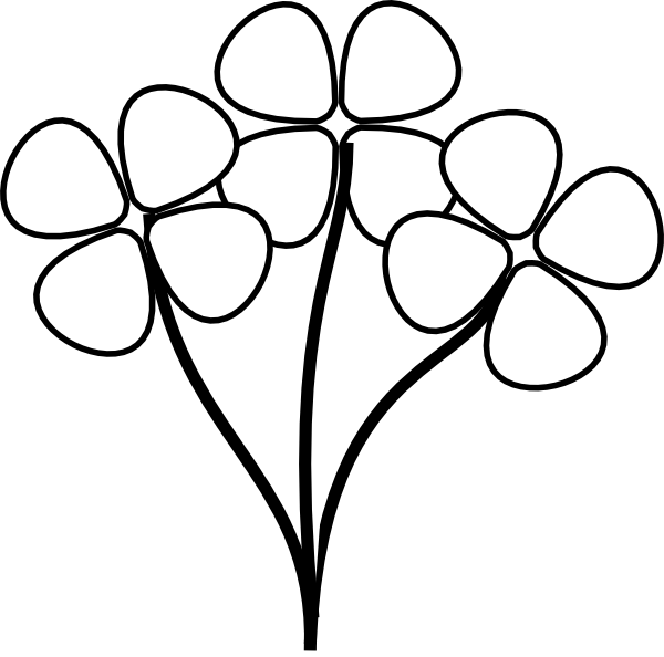 clipart-flower-black-and-white-flower-stem-clipart-black-and-white ...