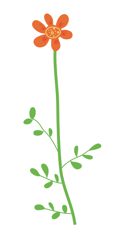 Clipart Flower With Stem | Clipart Panda - Free Clipart Images