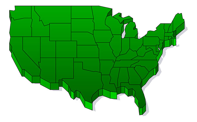 Clipart For Powerpoint Clipart Panda Free Clipart Images - Us map image for powerpoint