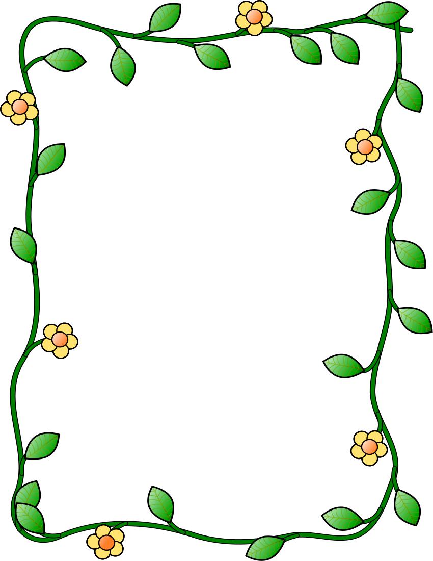 Clip Art Frames Border Shamrock | Clipart Panda - Free Clipart Images