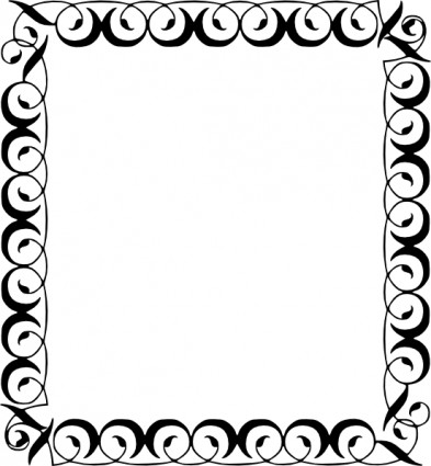 Free Clip Art Borders Scroll | Clipart Panda - Free Clipart Images