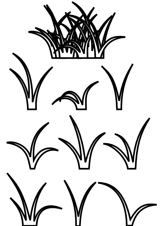 clipart%20grass%20black%20and%20white