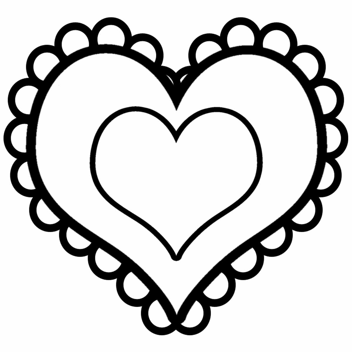 Pink Heart Outline Clipart | Clipart Panda - Free Clipart Images