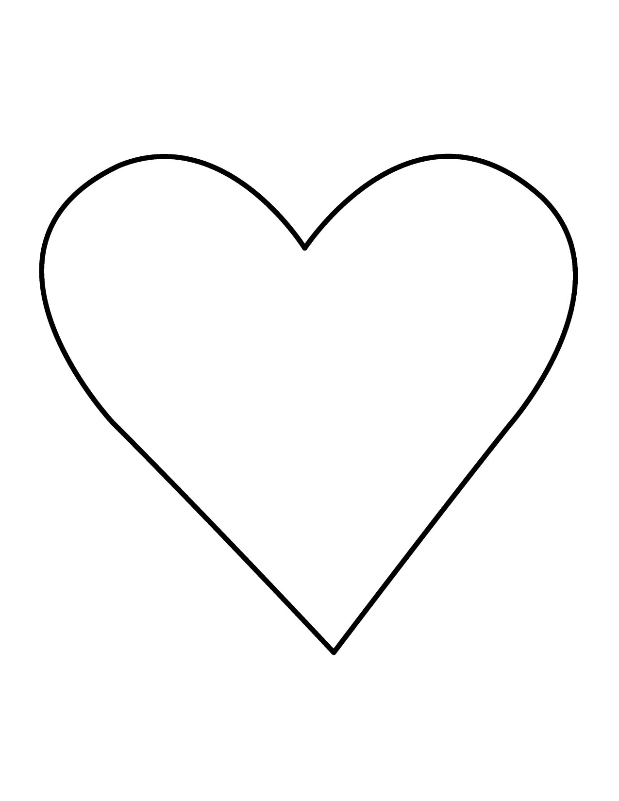 Black Heart Clipart Clipart heart