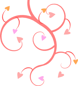 Clip Art Hearts In A Row | Clipart Panda - Free Clipart Images