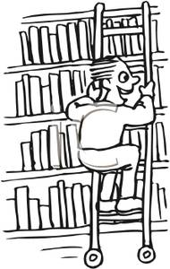 Bookshelf Clipart Black And White | Clipart Panda - Free Clipart ...