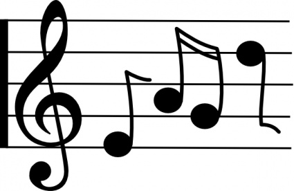 music notes on staff clipart clipart panda free clipart images rh clipartpanda com clip art musical notes symbols clip art musical notes images