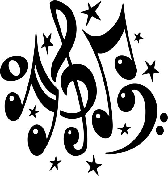 Clip Art Clipart Musical Notes clipart music notes panda free images notes