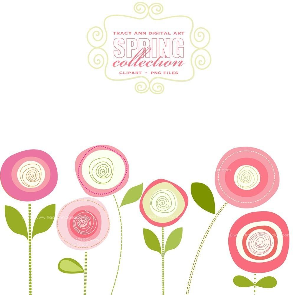 Clip Art Pink Flower Clip Art pink flower border clip art clipart panda free images