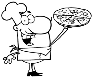 Clip Art Pizza Clipart Black And White pizza clipart black and white panda free images pizza